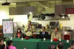 國中技藝競賽新北市教育局林局長蒞校參訪