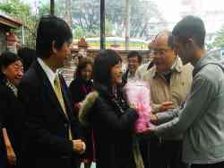 2011/12/23 江陵建設貴賓來訪