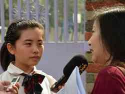 2012/03/02 漢聲廣播電台採訪 陳珮欣同學