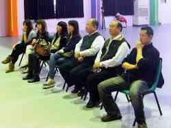 依林經紀公司 總經理 觀賞本科表演團體「少女時代」演出