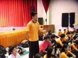 聯喬娛樂總經理 孫德榮先生蒞校挑選明日之星