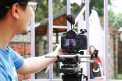 本校畢業校友林紅禎等5位城市小姐組成之少女團體『City魅』來校拍攝新專輯MV實況