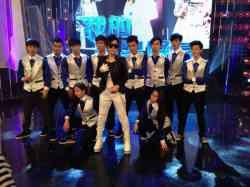 莊敬演藝受邀前進華視-我的明星好友錄影與潘美辰、林美秀、柯有倫一同演出