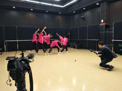 由崔老師帶領的團隊莊敬BTS參與拍攝