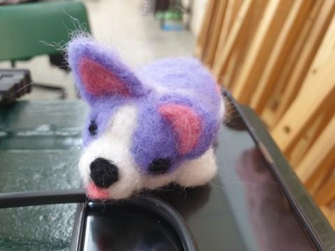 羊毛氈娃娃製作