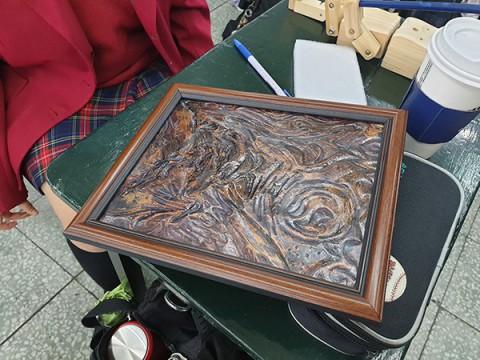銅浮雕製作(一)