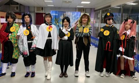 61週年校慶才藝秀--cosplay校園季